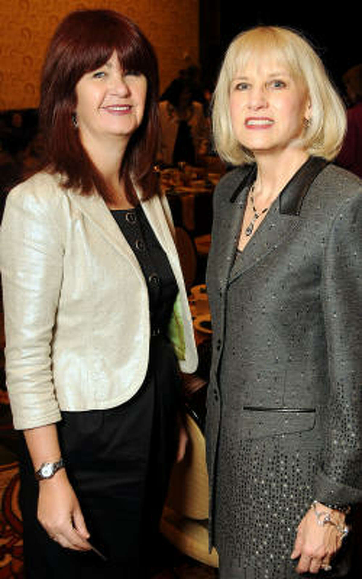 Lynn Ellis and Julie Dokell
