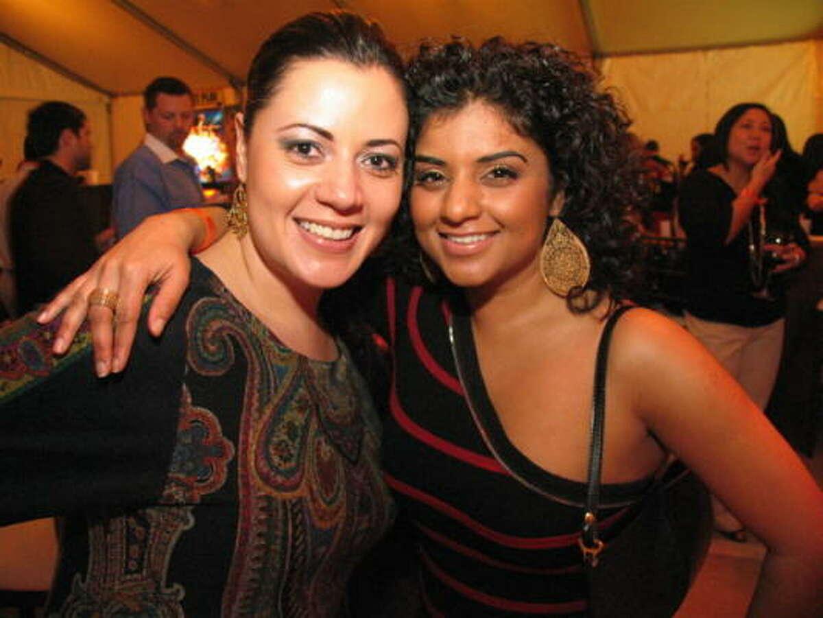 Susana Rosas, left, and Radhika Rajenbra