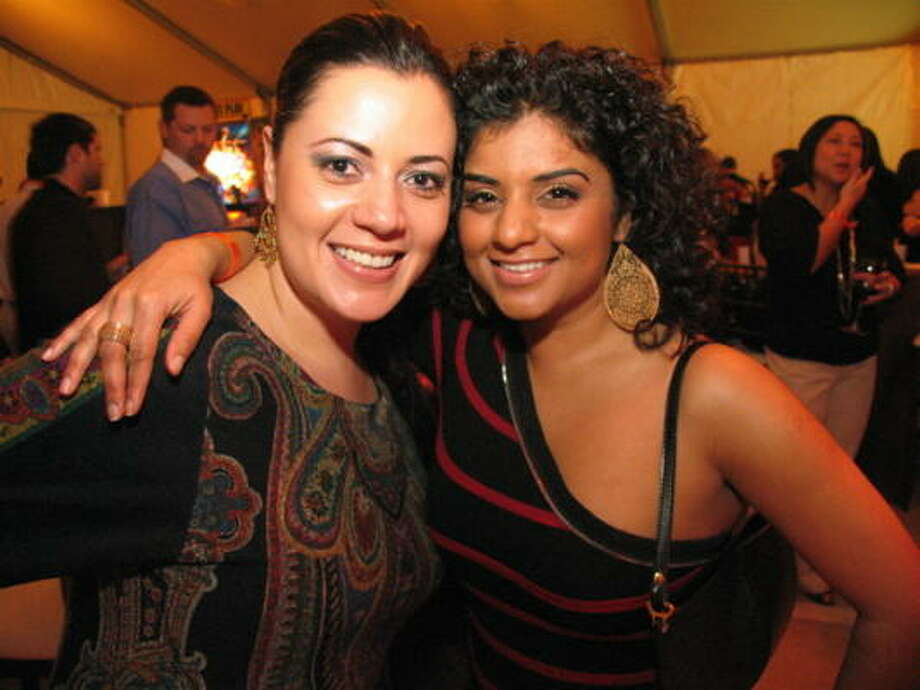 Susana Rosas, left, and Radhika Rajenbra Photo: Jordan Graber, For The Chronicle