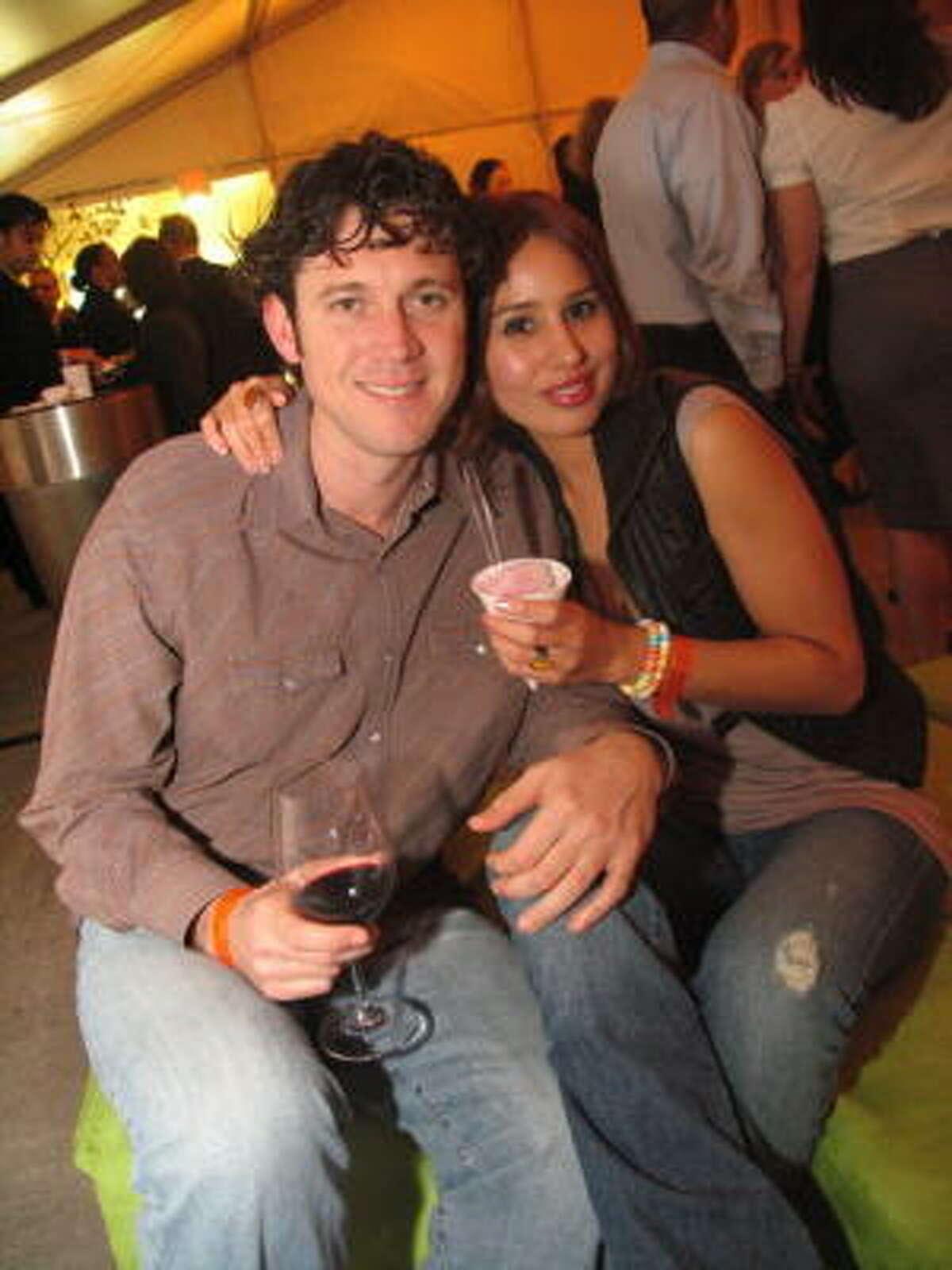 Brooks Bassler, left, and Maricela Hernandez