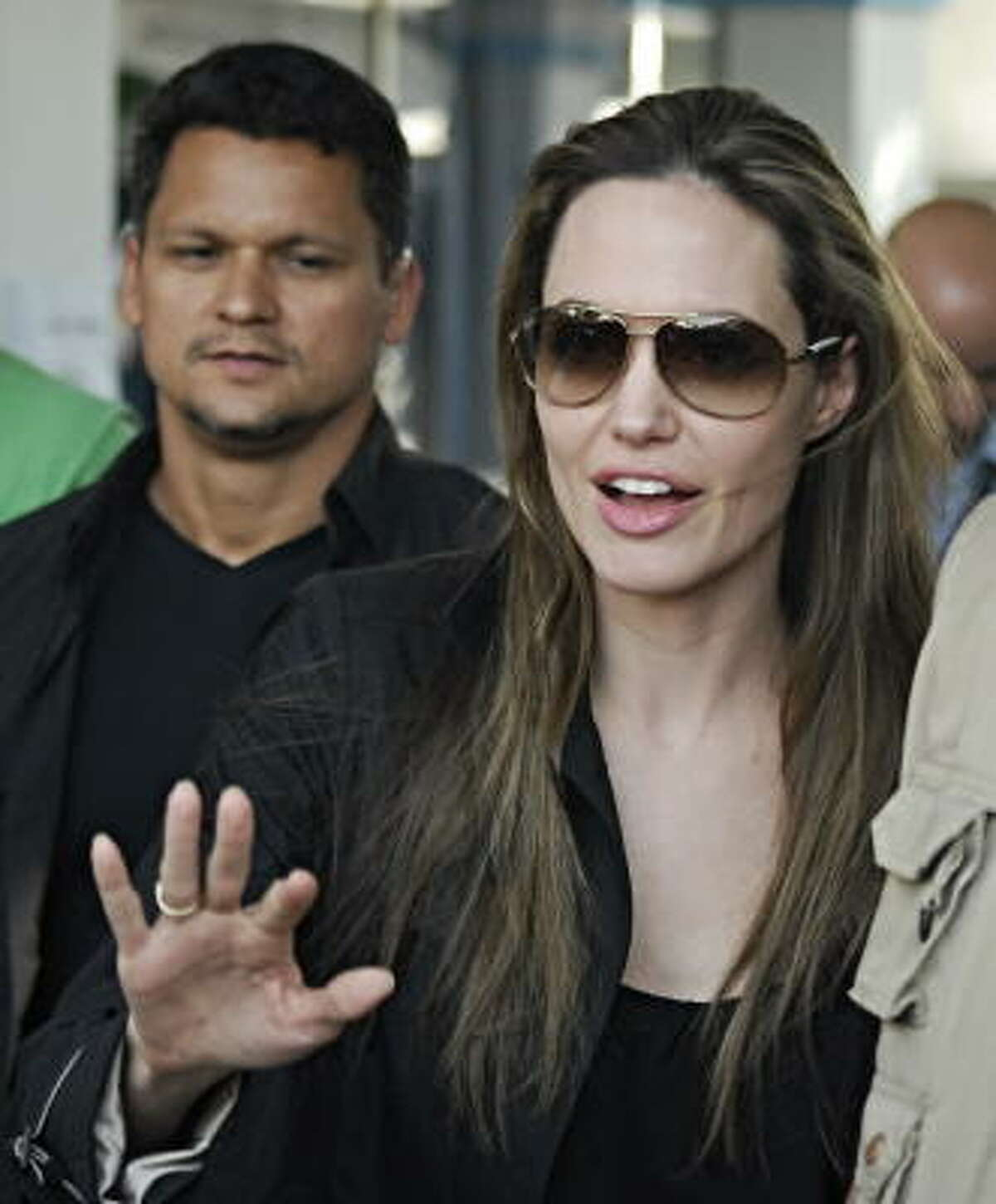 Angelina Jolie is United Nations Goodwill Ambassador.