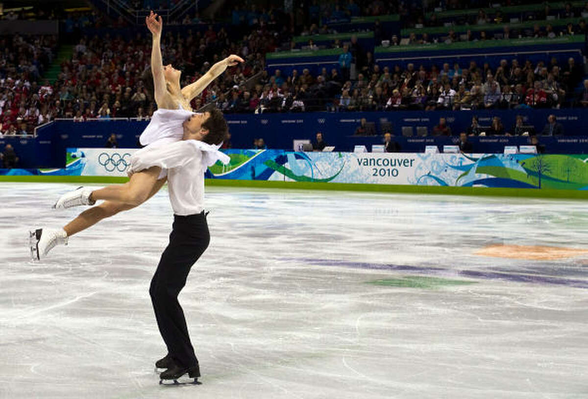 Tessa Virtue and Scott Moir skated to Mahler's Symphony No. 5.