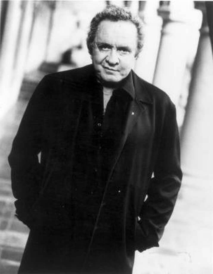 Johnny Cash was born J.R. Cash on Feb. 26, 1932 in Arkansas to Ray and Carrie. Photo: TNN The Nashville Network.