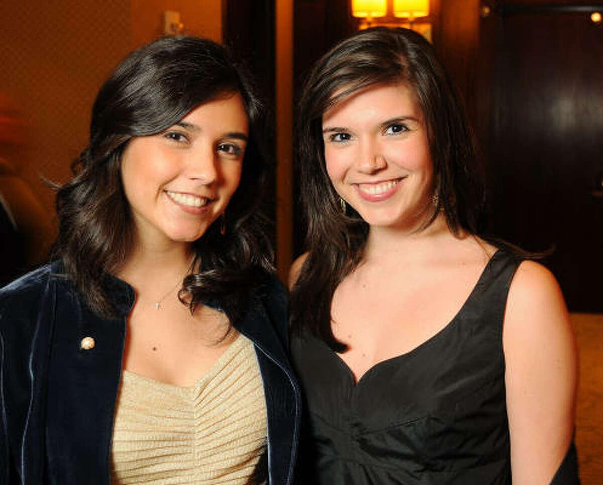Mandy and Gloria Luna