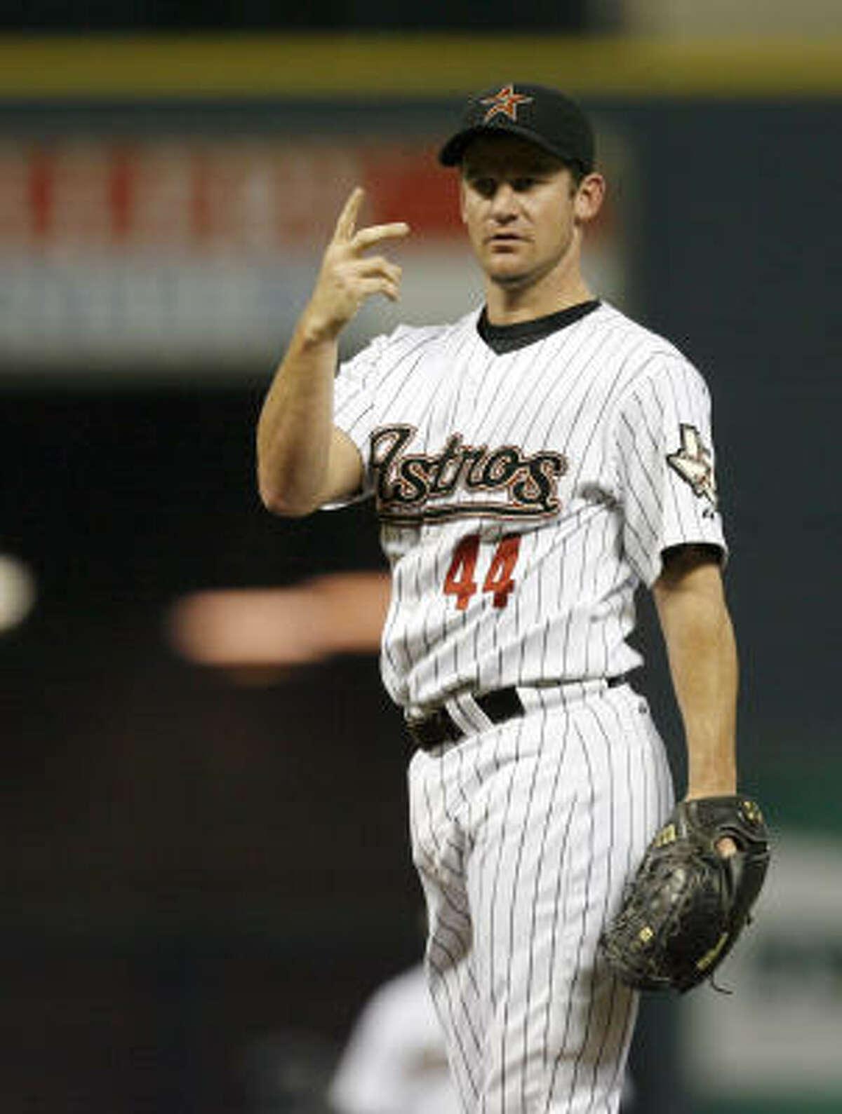 Roy Oswalt, RHP 2009 stats: 8-6, 4.12 ERA, 181 1/3 IP