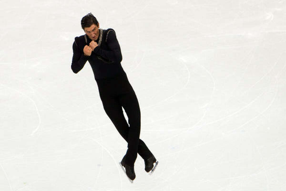 Evan Lysacek finished with the highest score in the short and long program, making him the first U.S. men's skater to win gold since Brian Boitano in 1988.