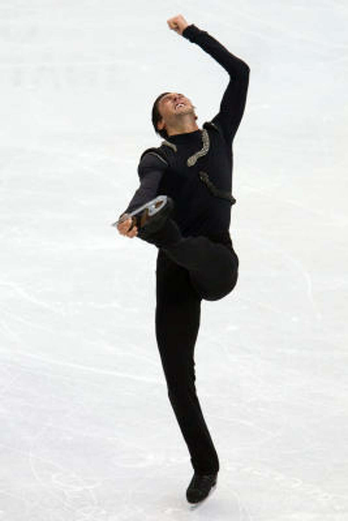 Evan Lysacek skated a clean, precise long program.