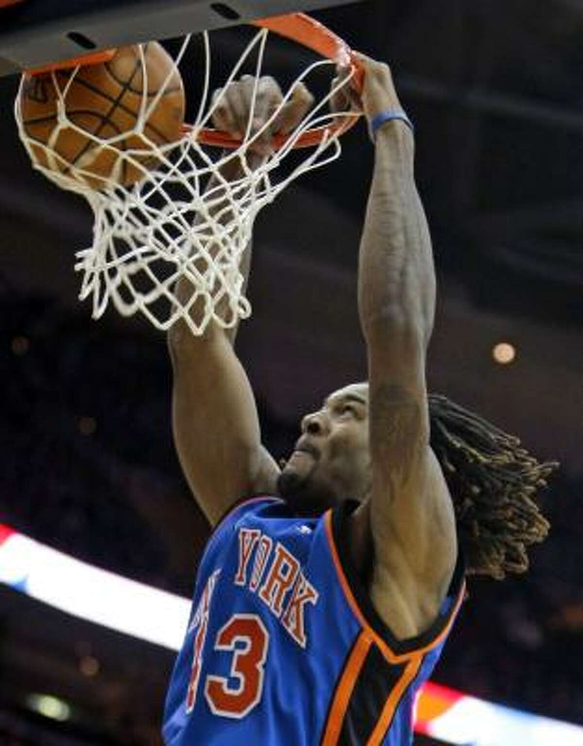 Jordan Hill (from New York Knicks) Position: Forward Age: 22 Height: 6-10 Weight: 235 2009-10 stats: 4.0 points per game, 2.5 rebounds Comment: Will compete for a spot in the rotation initially, but is an investment as a high-energy, athletic, above-the-rim player. He has a better than advertised jumper, but lacks polish.