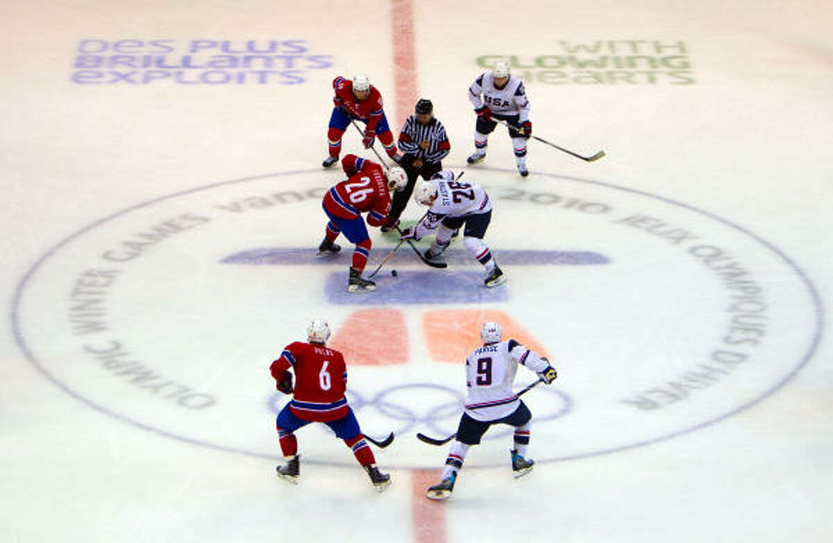 The U.S. faces off against Norway.
