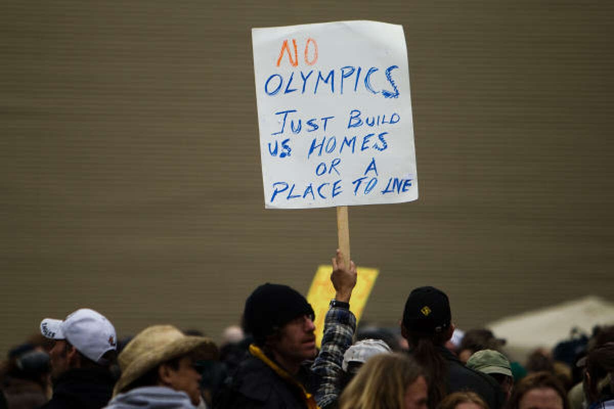 Protesting has been as present around recent Olympics as gold, silver and bronze medals.