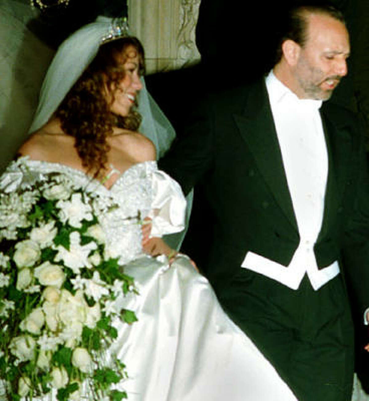 With Columbia Records executive Tommy Mottola, she became the first artist to have her first five singles hit the U.S. Billboard Hot 100. She would later marry Mottola in 1993.