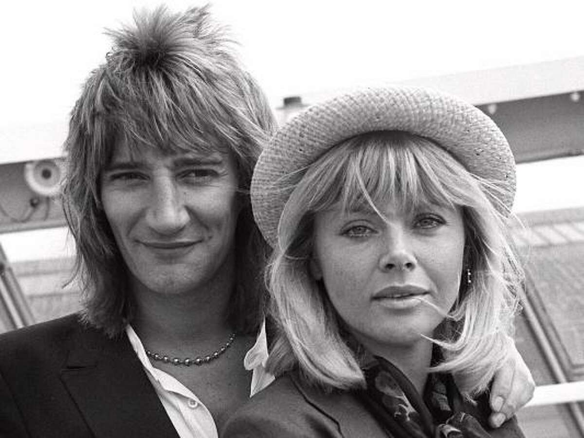 Born in the UK, Rod Stewart followed his love interest, Britt Ekland, right, to the US in 1975. He then released Atlantic Crossing, an album that reached the Top 10 Billboard album charts. Take a look at the life and style of the womanizing Maggie Mae hit maker.