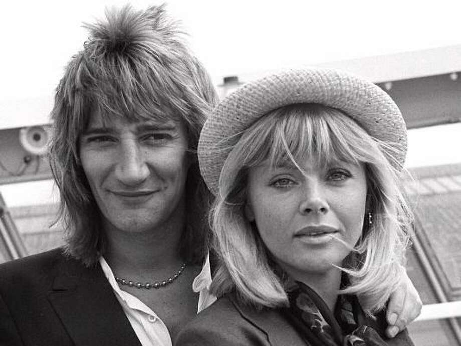 Born in the UK, Rod Stewart followed his love interest, Britt Ekland, right, to the US in 1975. He then released Atlantic Crossing, an album that reached the Top 10 Billboard album charts. Take a look at the life and style of the womanizing Maggie Mae hit maker. Photo: AP