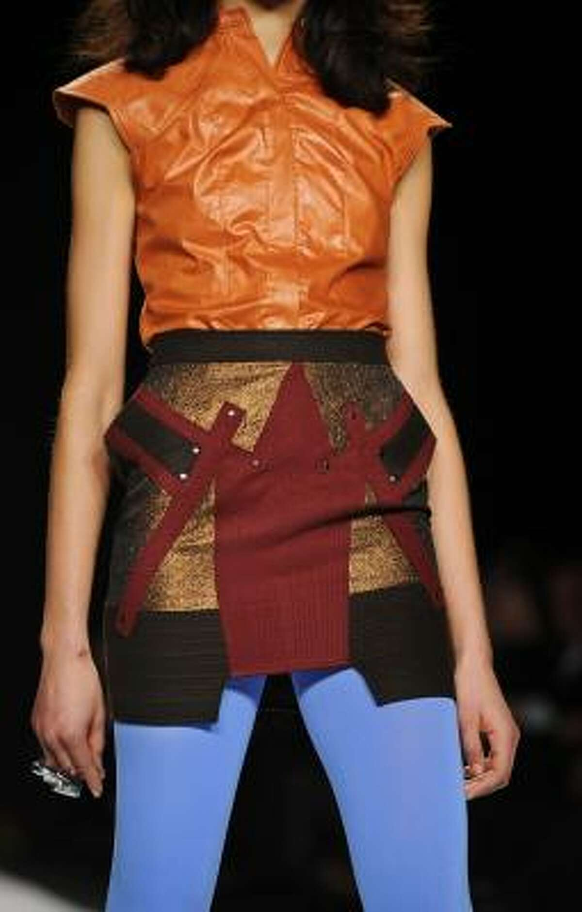 From designer Ben Chmura during the Project Runway Season 7 finale.