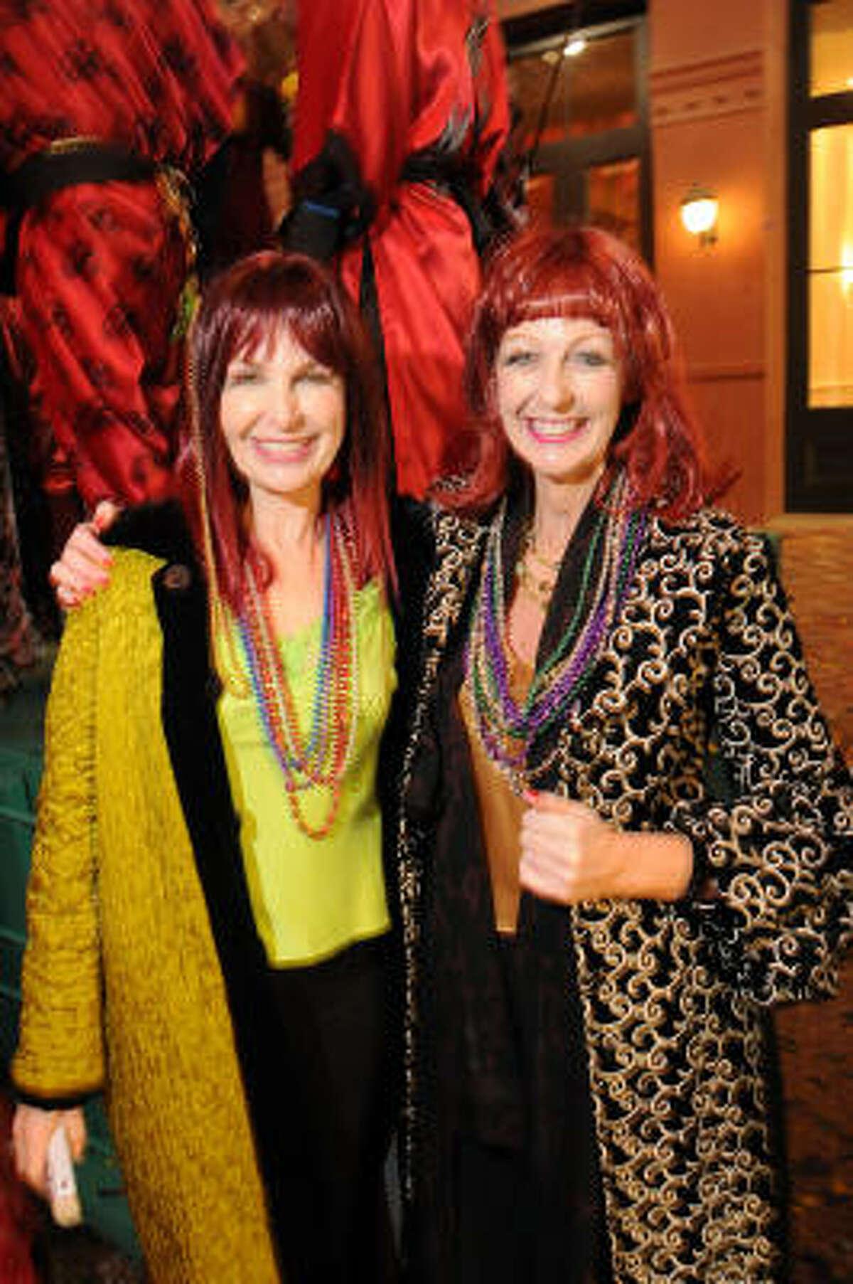 Brenda Mitchell and Janice Hurst