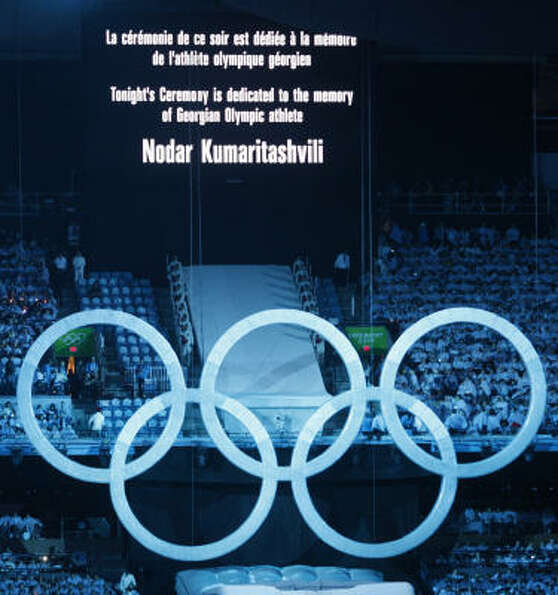Olympic organizers dedictated the Opening Ceremony to the Georgian luger who died during a training