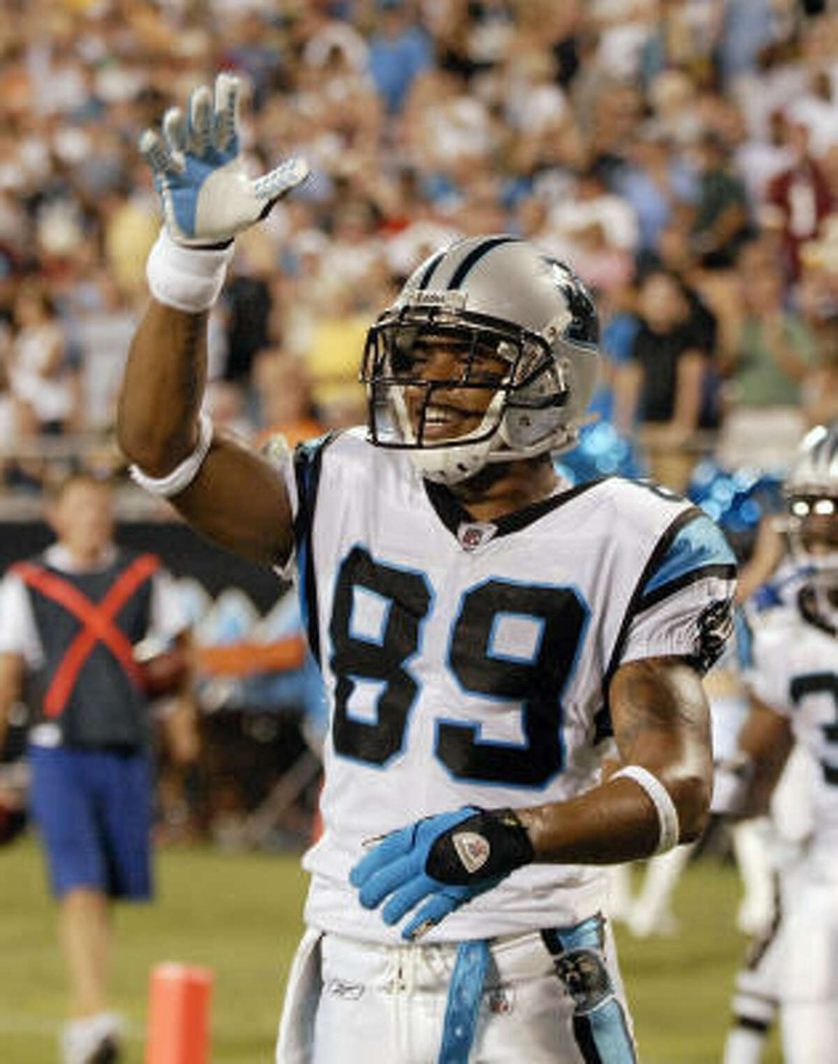 Carolina Panthers Needs: DE, with Julius Peppers' future uncertain and fellow starter Tyler Brayton also a free agent; decision on QB; another WR to complement Steve Smith (top photo). Strengths: RB tandem of DeAngelo Williams and Jonathan Stewart; LB and CB with Jon Beason, Thomas Davis, Chris Gamble and Richard Marshall.