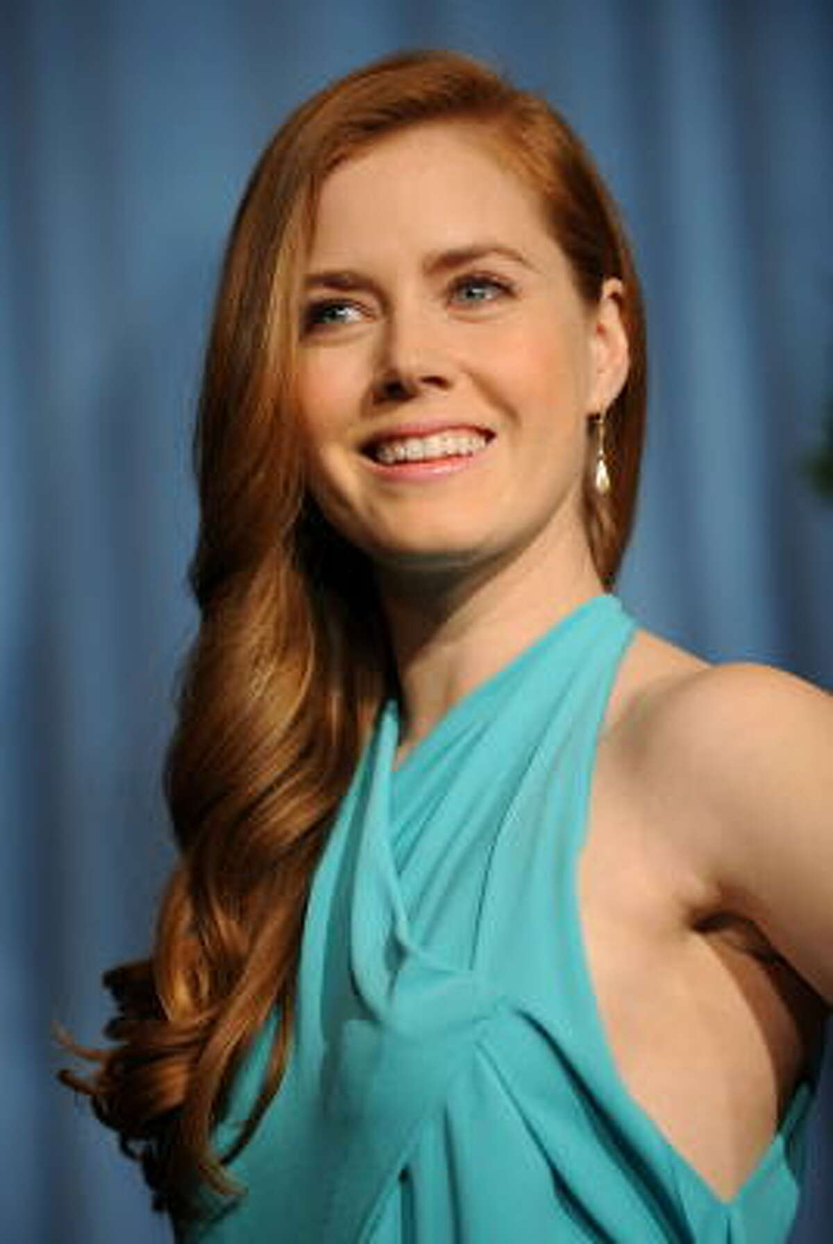 Amy Adams Tigers are generally well-liked and have charismatic personalities. Exhibit A: Amy Adams.