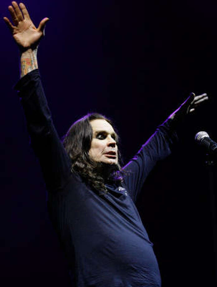 True:Ozzy Osbourne did in fact bite the head off a bat. At a concert in 1982, an audience member threw a bat onstage. Ozzy, not realizing the bat was real, proceeded to bite the animal's head off. There is still debate as to whether the bat was alive or dead when thrown on the stage, but really - does it matter? Osbourne had to get a series of rabies shots. Photo: Sergio Dionisio, Getty Images