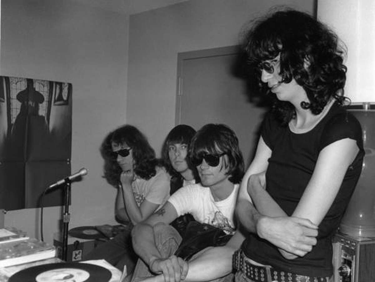 True: Did Phil Spector hold the Ramones hostage while working on their album, End of the Century? According to Dee Dee Ramone he did.