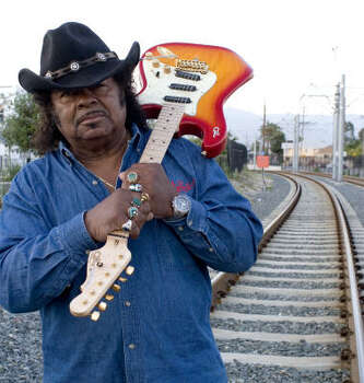 Guitar Shorty was born in Houston. Shorty is often credited as being an influence for his young friend Jimi Hendrix. Photo: Angel Muniz, Alligator Records