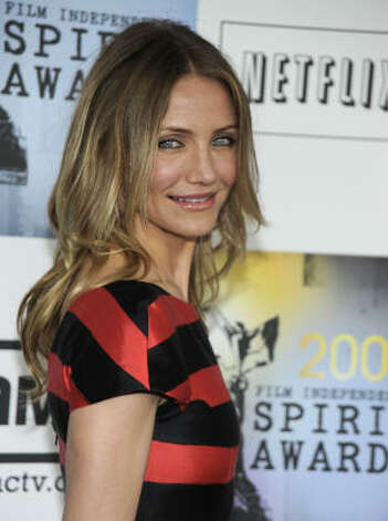 Cameron Diaz arrives at the Independent Spirit Awards in 2009. Photo: Dan Steinberg, AP