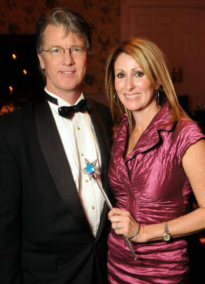 John and Denise Hammond Photo: Dave Rossman, For The Chronicle