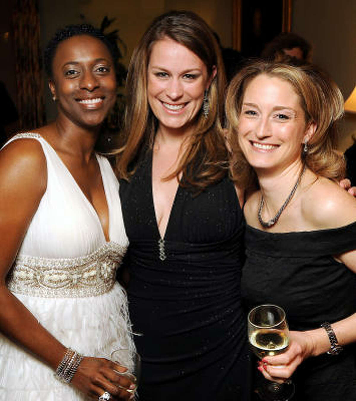 From left: Nicole Walters, Leah MacDougal and Catherine Smith