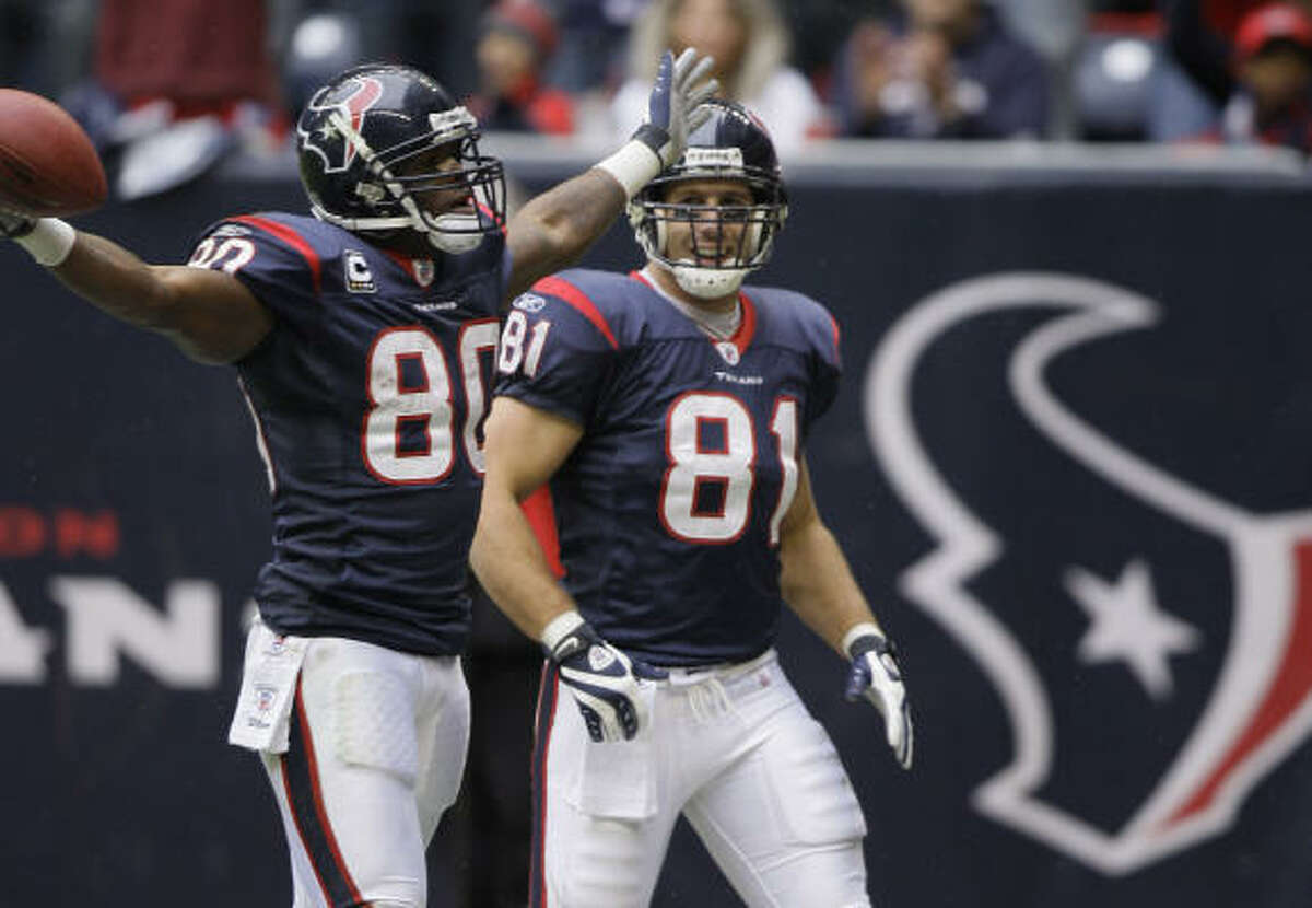 Andre Johnson Position: Wide receiver Receiving yards: 1,575