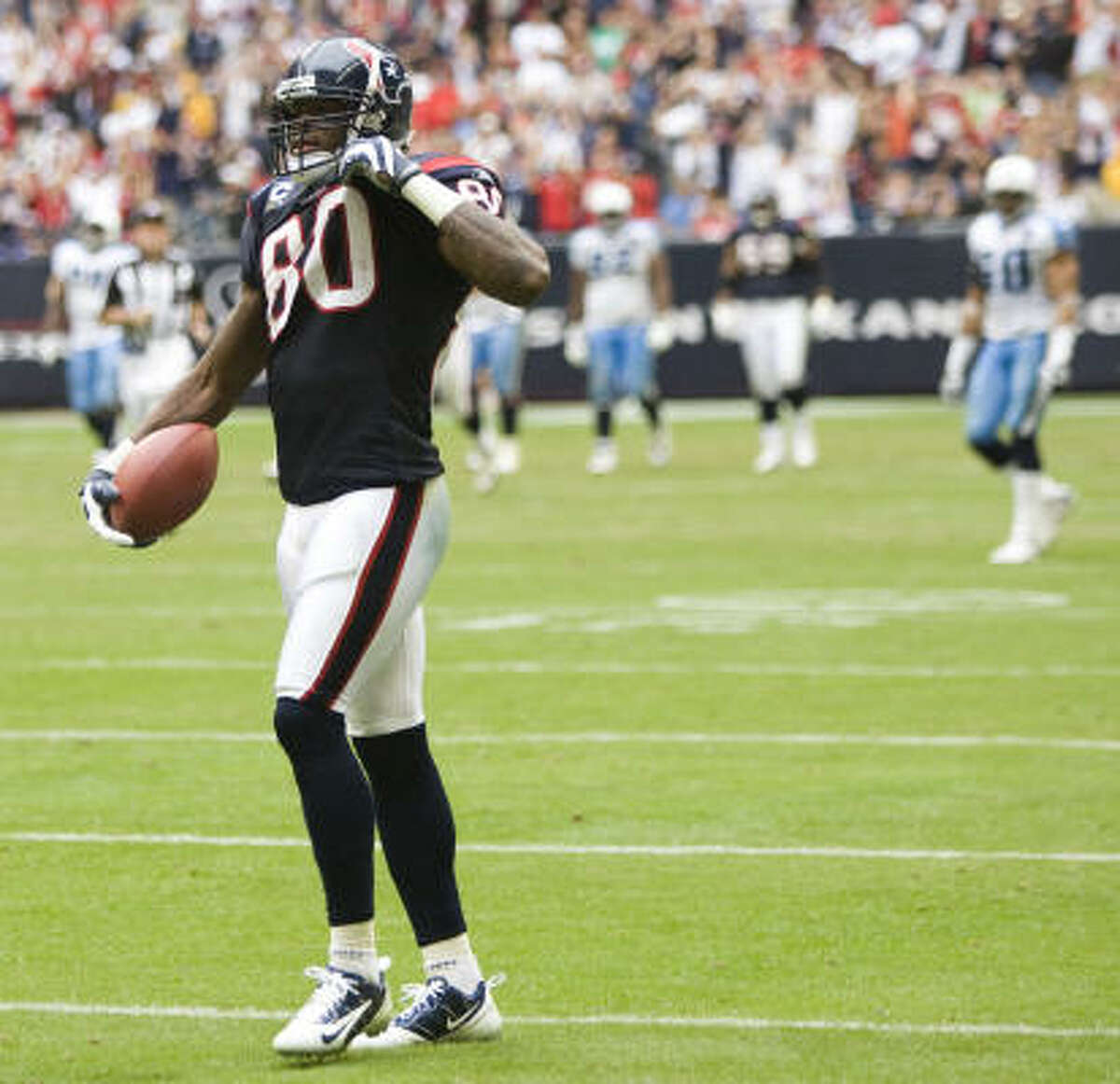 Andre Johnson Position: Wide receiver Receiving yards: 688