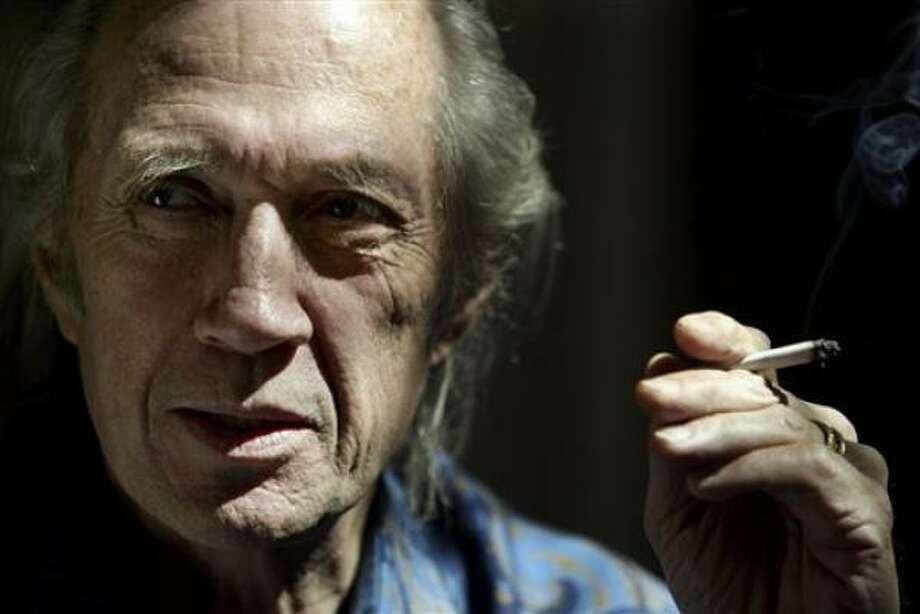 David Carradine, star of the 1970s TV series Kung Fu who also had a wide-ranging career in the movies, has died. Photo: PHIL MCCARTEN, AP