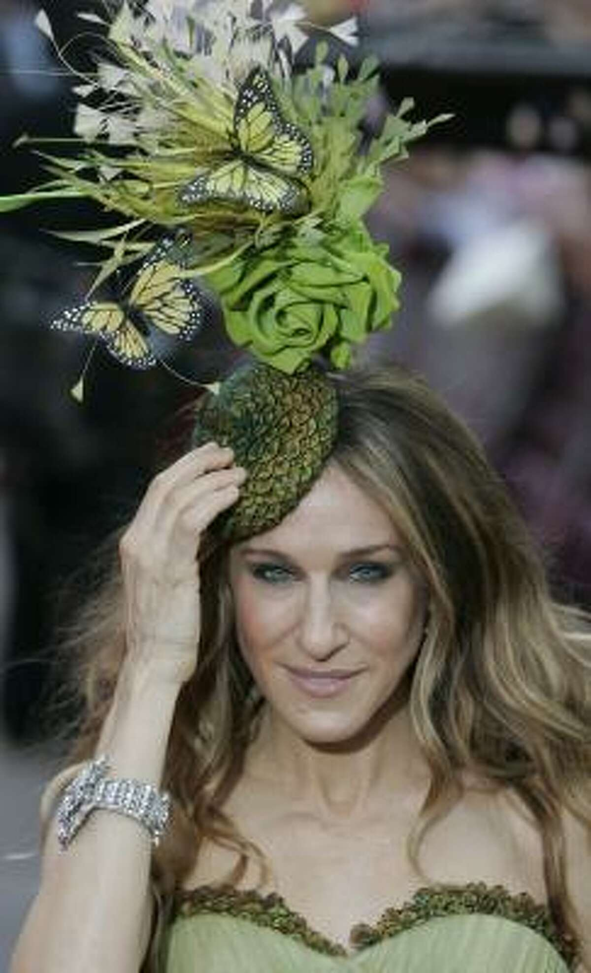 He also designed the hat Sarah Jessica Parker wore to the London premiere of Sex and the City.