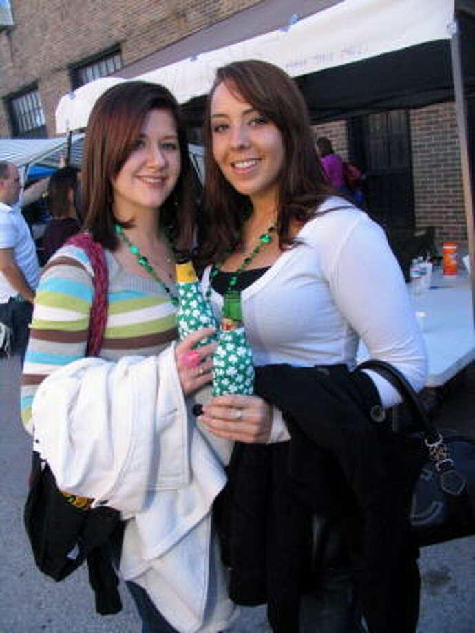 Liz Butts, left, and Kayla Elwood Photo: Jordan Graber, For The Chronicle
