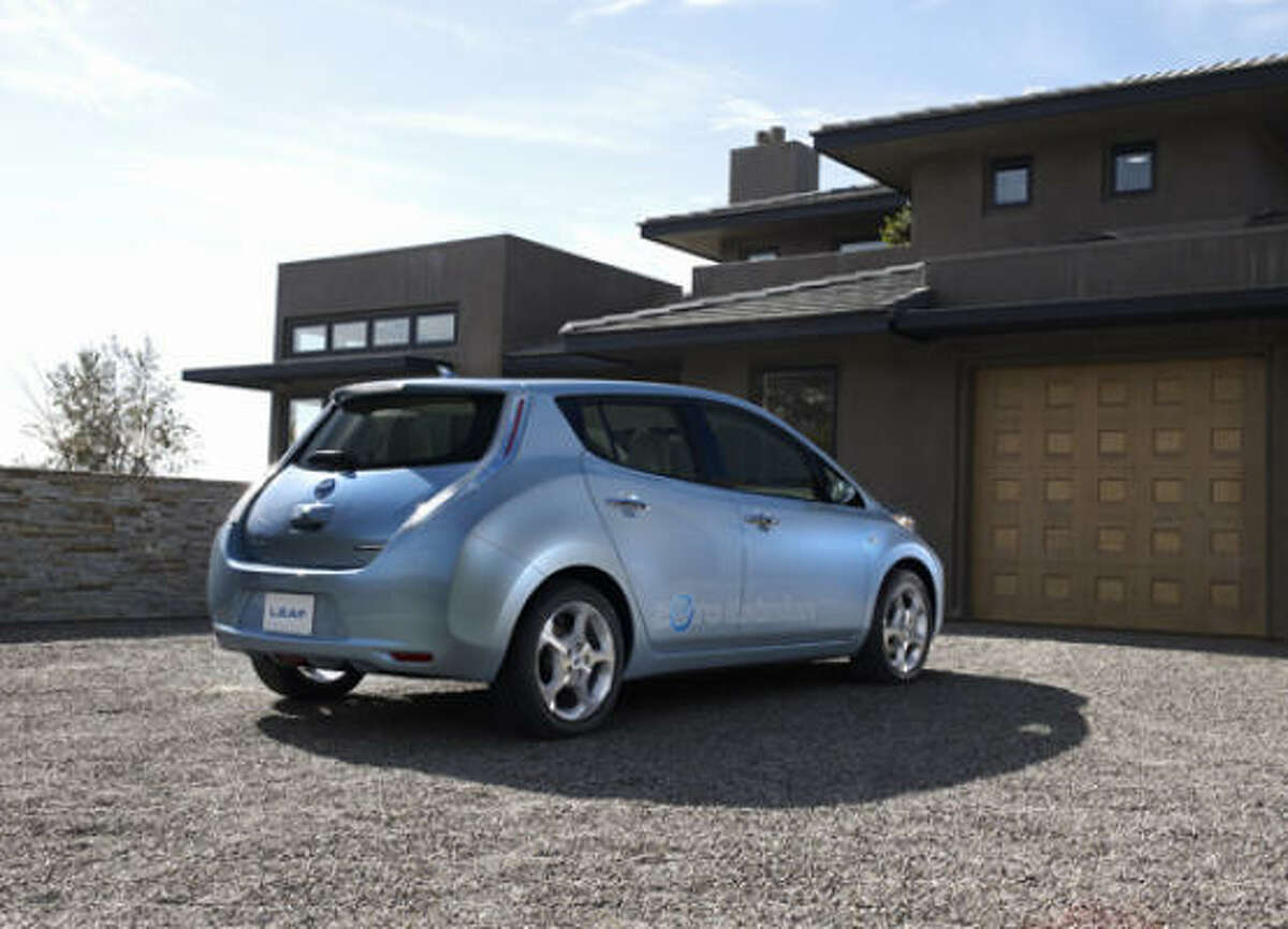 Nissan expects the LEAF to qualify for an array of tax breaks and incentives.