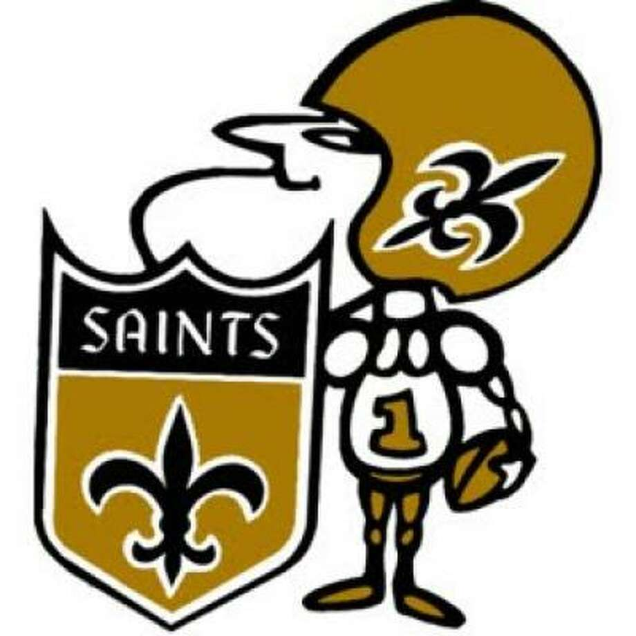 "Saints New Orleans' mascot is named ""Sir Saint."""