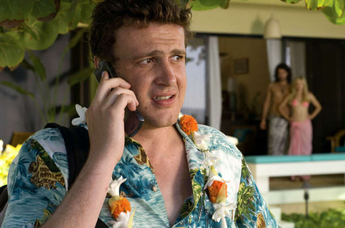 Forgetting Sarah Marshall:You're naked and she can't stand you anymore.