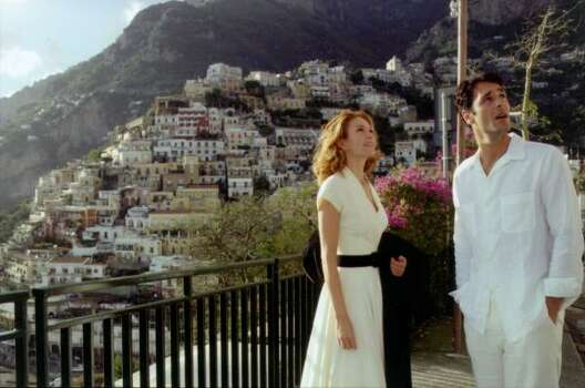 """Under the Tuscan Sun"" – After divorcing her cheating husband, Frances Mayes tries to overcome her depression and writer's block by taking a vacation to Tuscany. Charmed by the location, she impulsively decides to buy a villa there. Available July 1 Photo: Touchstone Pictures"