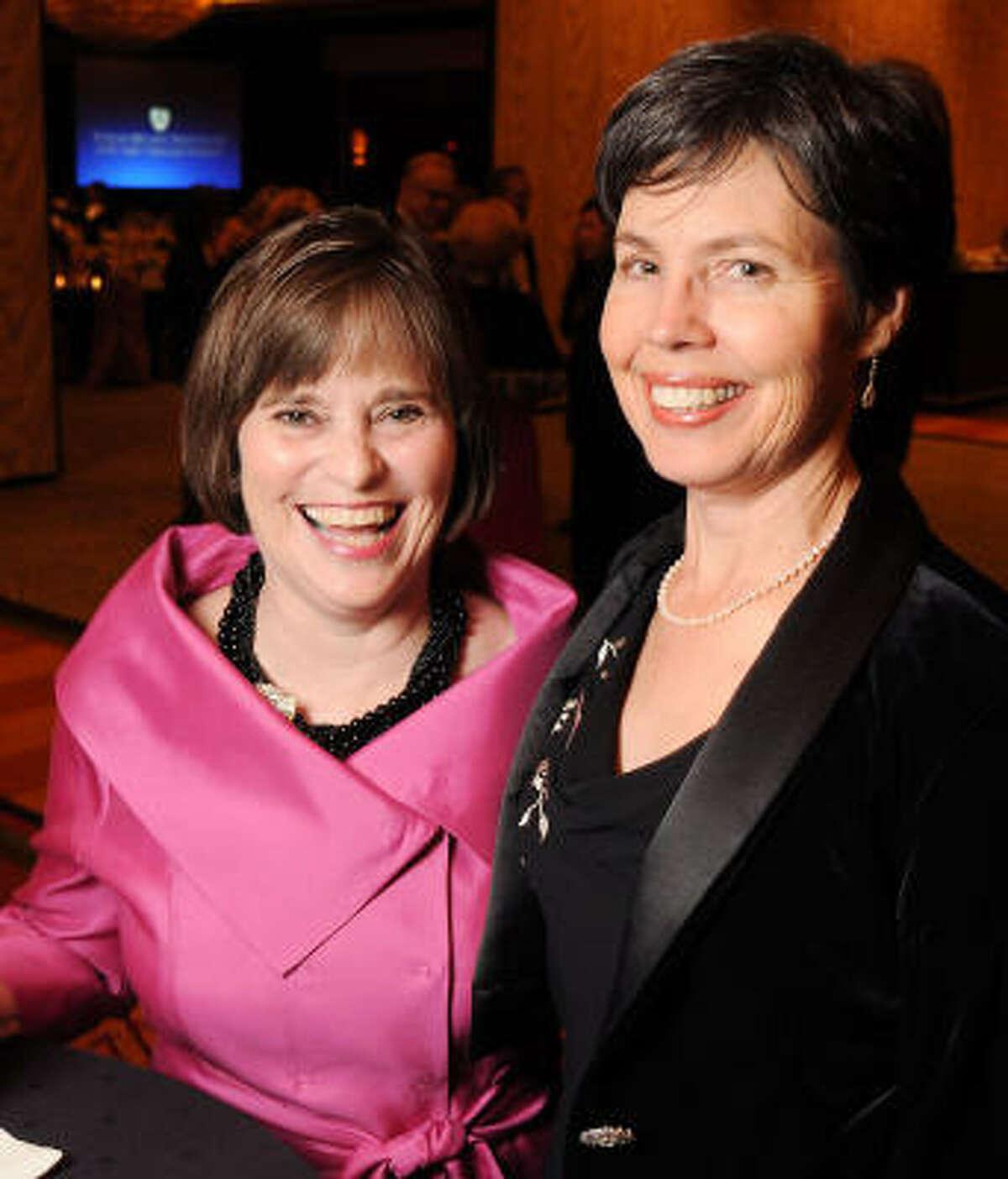 Debbie Pilmer and Barbara Mattsson