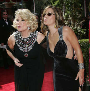 Joan Rivers vs. daughter Melissa Rivers 