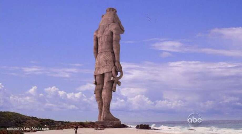 10. Where did the ancient stuff on the island, including the statue and the temple, come from? Read more about Lost in