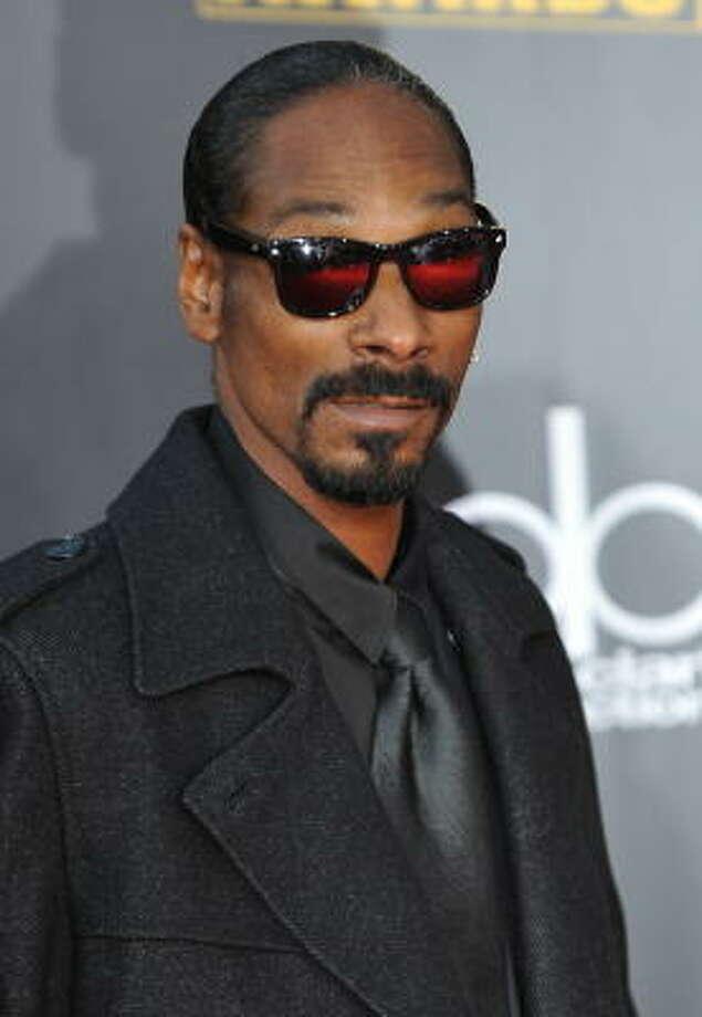Snoop Dogg, akaCordazer Calvin Broadus Photo: ROBYN BECK, AFP/Getty Images