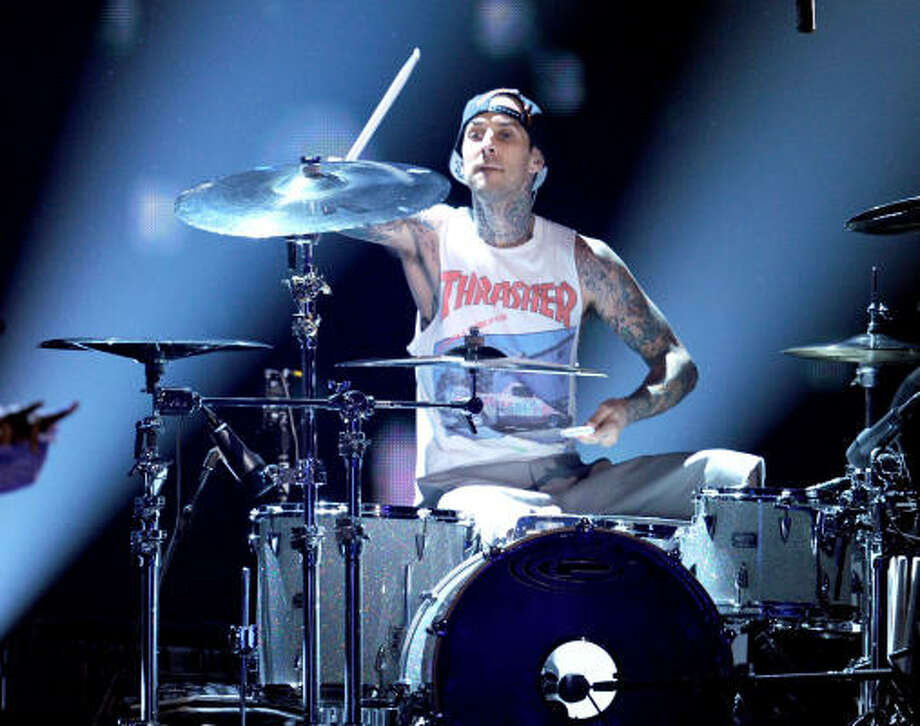 """Blink-182 once surprised fans by playing a movie theater as part of the show """"MTV Jammed"""", dressed as the characters from the """"First Date"""" video. Photo: Kevin Winter, Getty Images"""