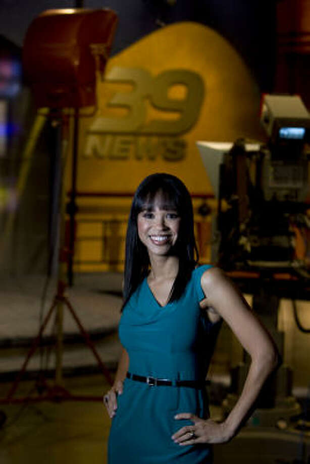 Mia Gradney has been the prime-time news anchor at Channel 39 since fall 2008. Read more about how she's trying to lift her struggling station. Photo: Johnny Hanson, Chronicle