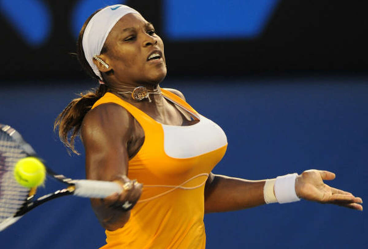 Serena Williams' 12th singles major matched American great Billie Jean King's career total.