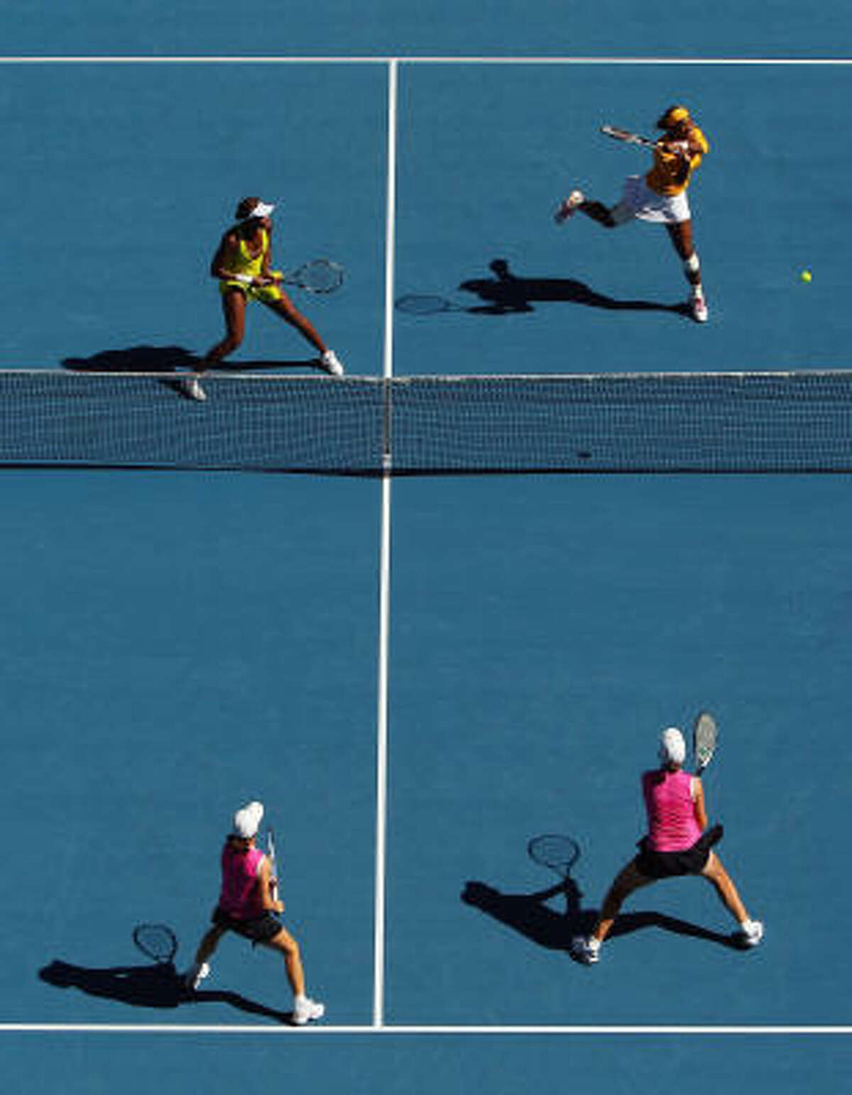 The Williams sisters have now won 11 Grand Slam doubles titles.