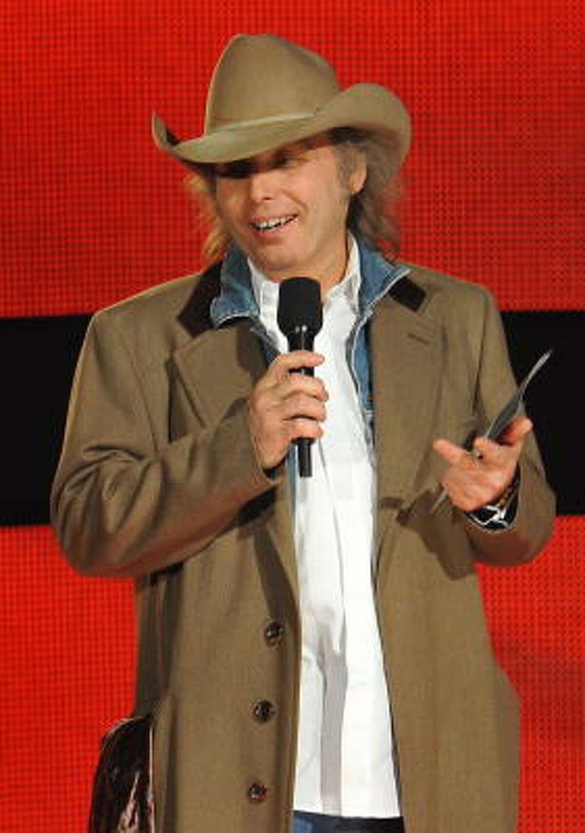 Dwight Yoakam announced the nominees in the Best Country Performance by a Duo or Group with Vocals category. The nominees included Brooks & Dunn, Zac Brown Band, Lady Antebellum, Rascal Flatts and Sugarland.