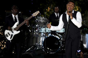 Singer Maxwell's song  Pretty Wings  is nominated for Song of the Year and his album  Blacksummers' Night  is up for R&B Album.