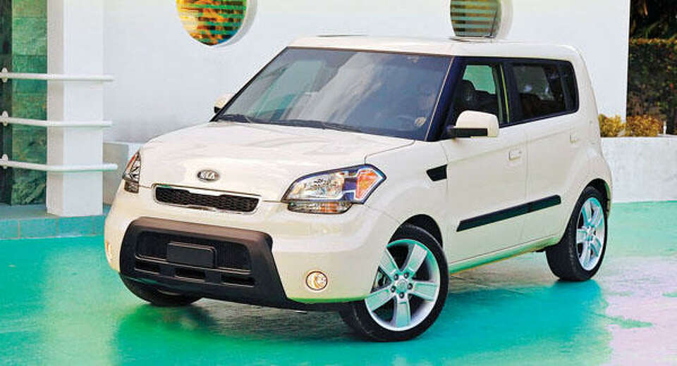 Kia rolls out the all-new 2010 Soul urban passenger vehicle with modern styling aimed toward the you
