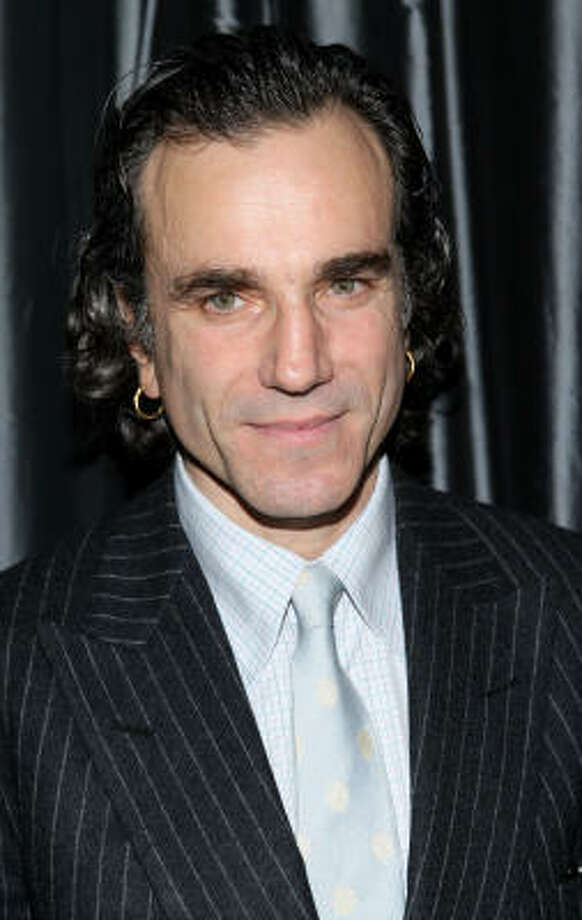 "Daniel Day-Lewis doesn't want to talk about his method-acting, because he thinks talking about it will make people think he's weird. ""I've been reluctant to talk about how I work because I don't feel one should talk about it. But the problem is a lot of other people then talk about it, and by a process of Chinese whispers it sounds like some strange satanic ritual is taking place.""  Daniel. Whether you talk about it or not, when your role requires you to be spoon-fed when off camera or your son starts thinking you actually work in carpentry, people start to think you are weird.   Photo: Stephen Lovekin, Getty Images"