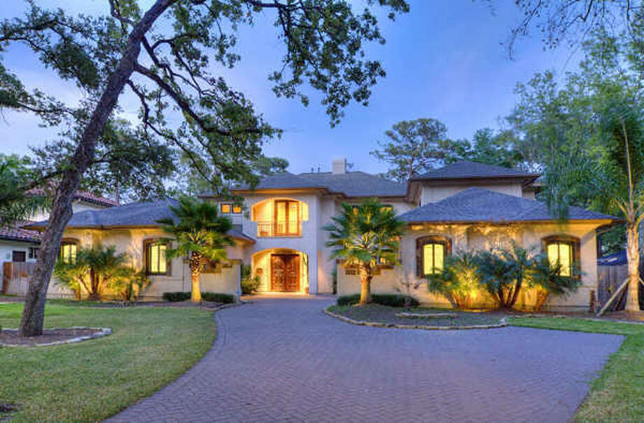 Mediterranean stucco by O'Connor-Gil and situated in the Pinewood subdivision. Photo: Martha Turner Properties